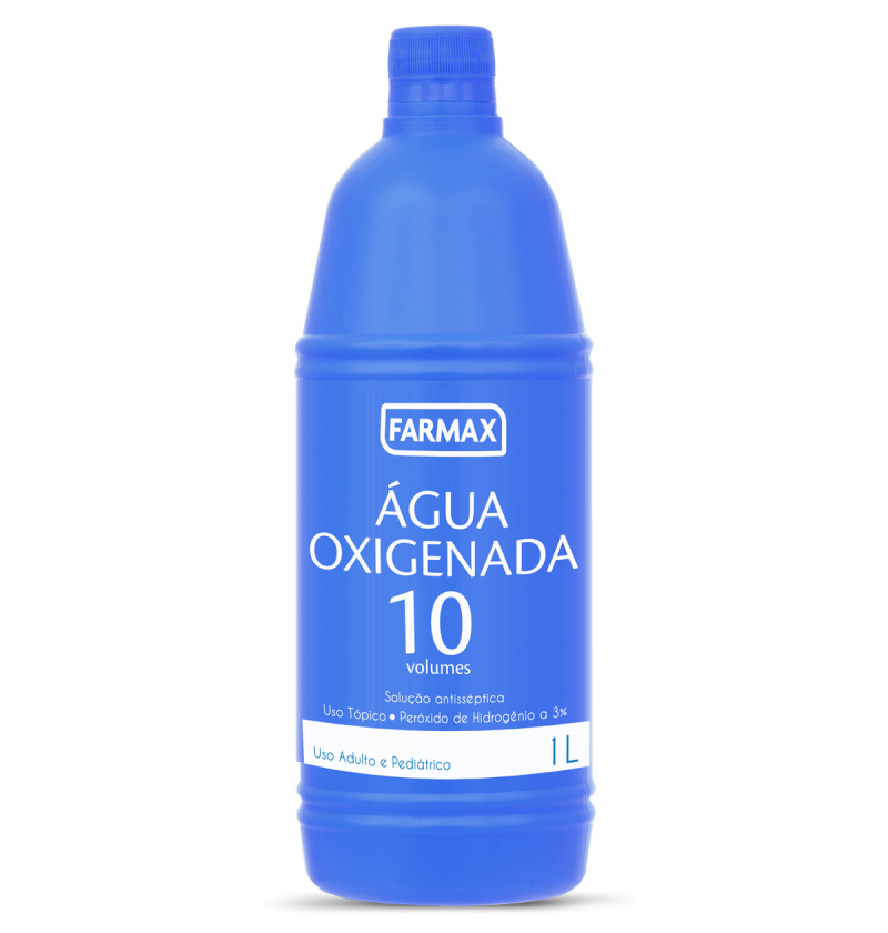 AGUA OXIGENADA FARMAX 10V 1000ML
