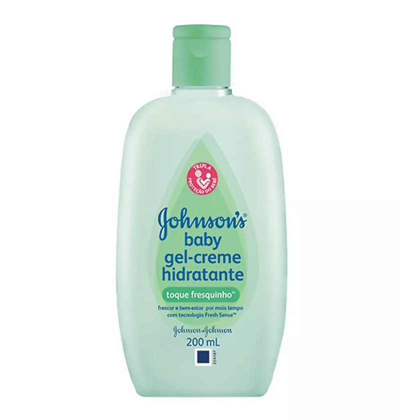 JOHNSONS BABY LC HID GEL-CREME 200ML