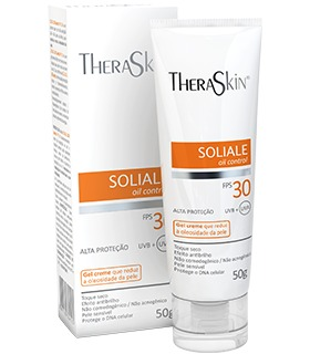 SOLIALE GEL CREME FPS 30 50G THERASKIN