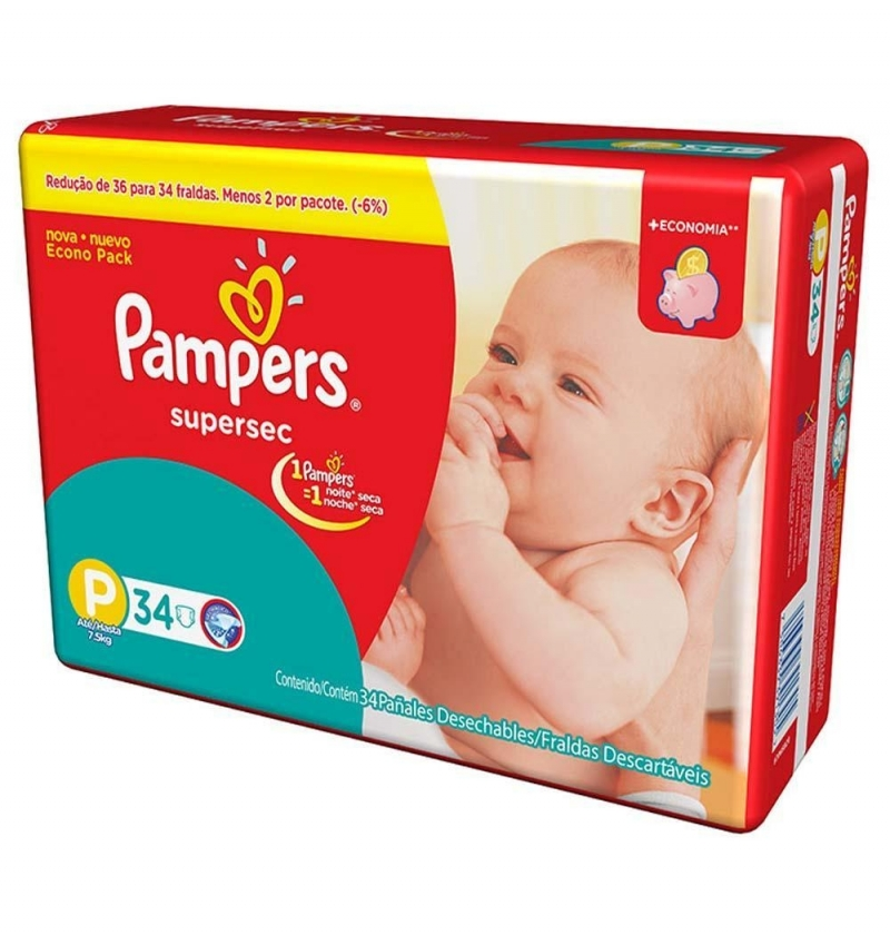 FRAL PAMPERS BASICA SUPERSEC ECON P C/34