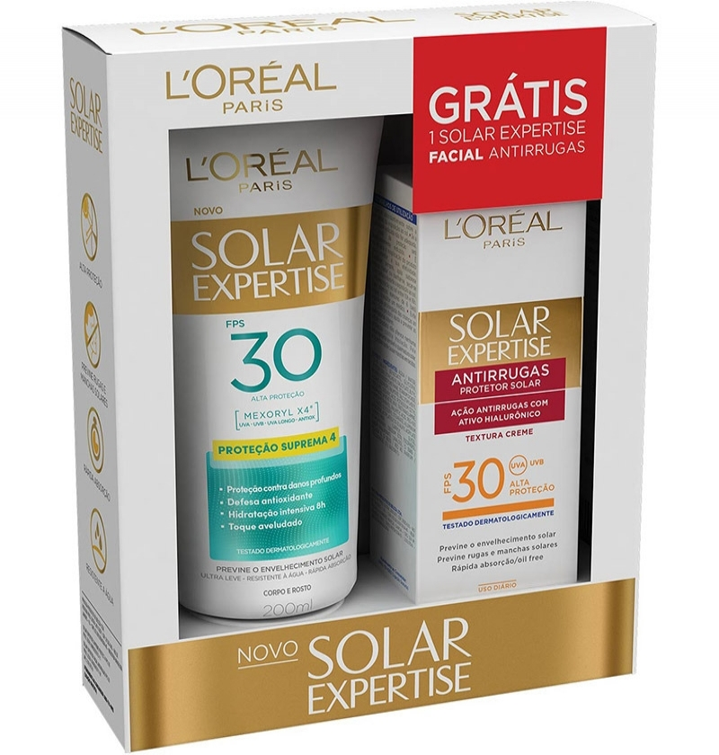 LOREAL PROT FPS 30 EXP 200ML+ FACIAL FPS 30 50G