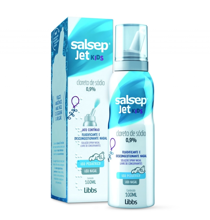 SALSEP JET 0,9% KIDS 100ML