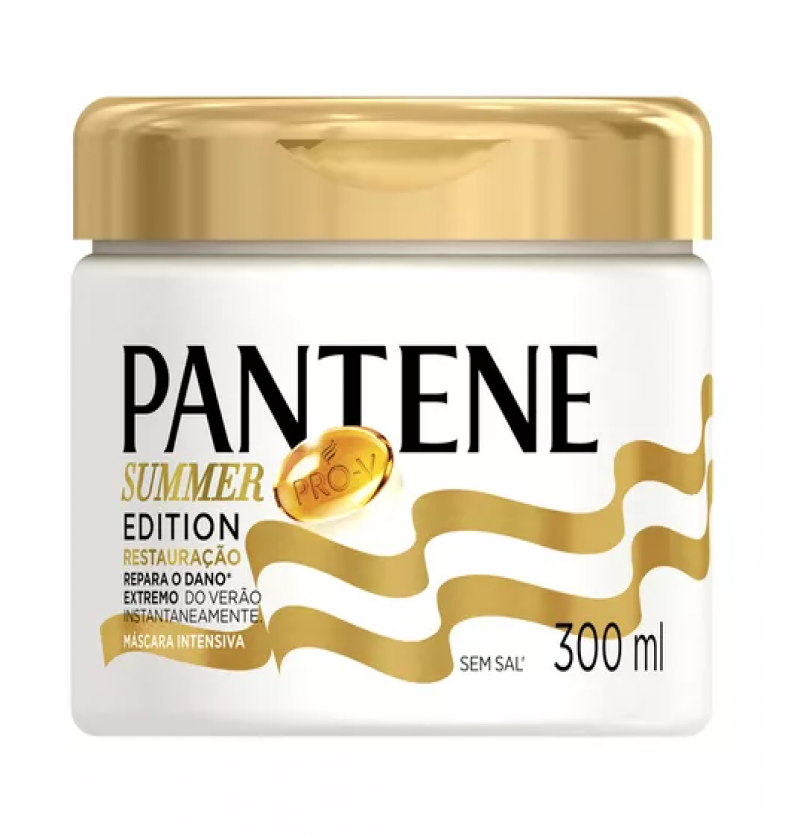 PANTENE TRATAMENTO RESTAURAÇÃO SUMMER EDITION 300ML
