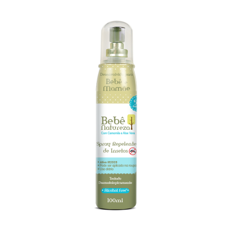 BEBE NATUREZA REPELENTE SPRAY 100ML