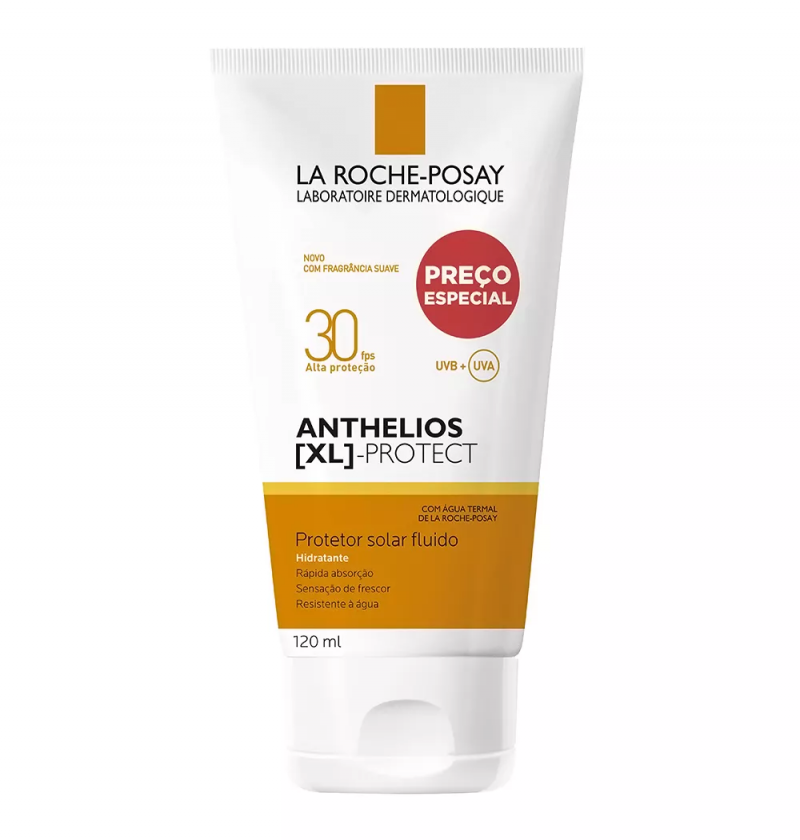 ANTHELIOS 30 XL PROTECT FLUIDO 120ML