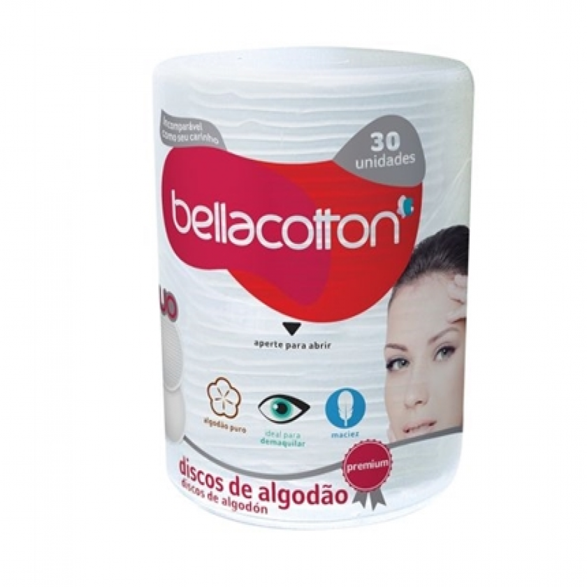 ALGODAO BELLA COTTON DISCOS  C/30 COD 1098