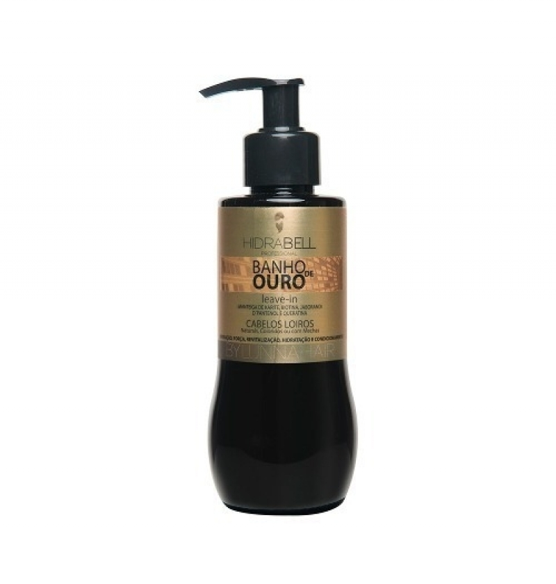 HIDRABELL LEAVE-IN BANHO DE OURO 220ML