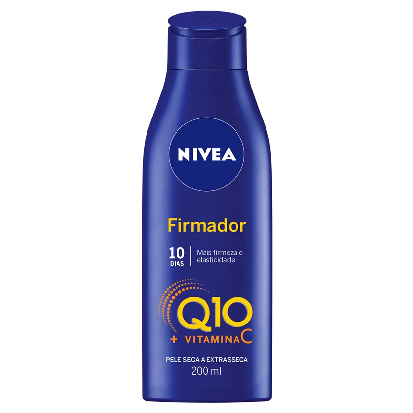 NIVEA BODY LOÇÃO FIRMADOR Q10 VITAMINA C 200ML