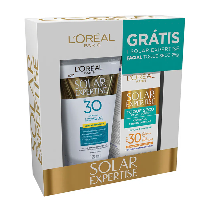 LOREAL EXPERTISE CORPO FPS30 120ML+ FACIAL