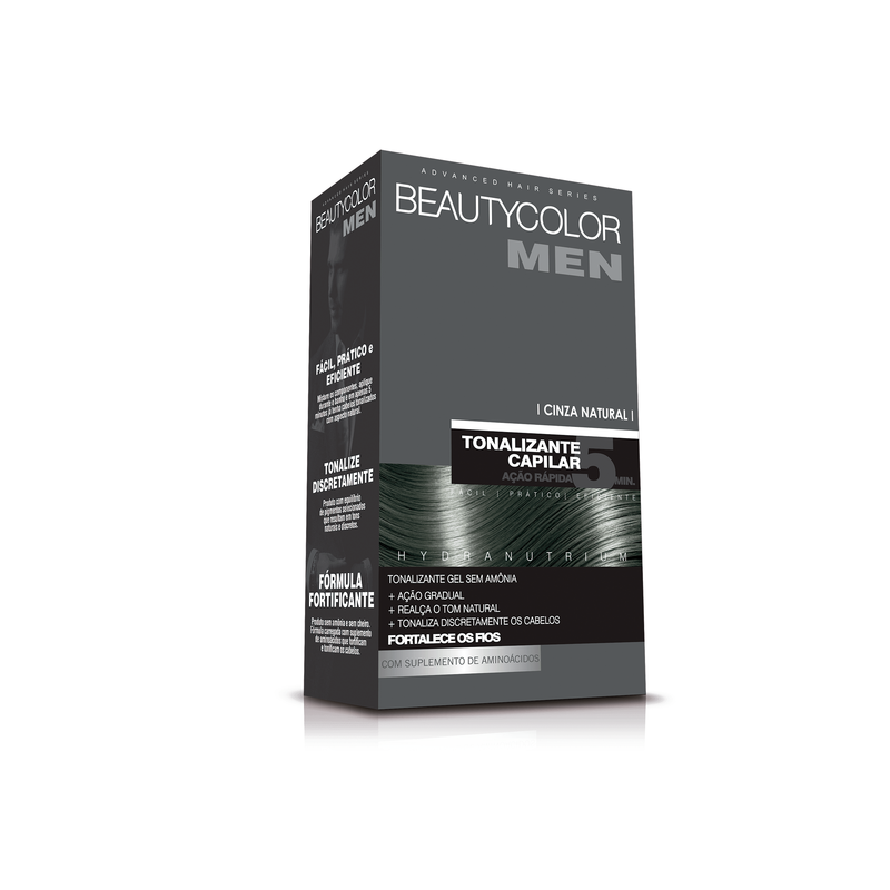 BEAUTYCOLOR MEN CINZA NATURAL