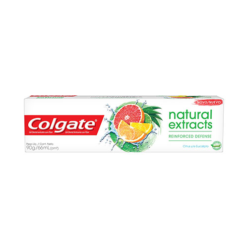 CREME DENTAL COLGATE NATURAL REINF DEFENSE 90G