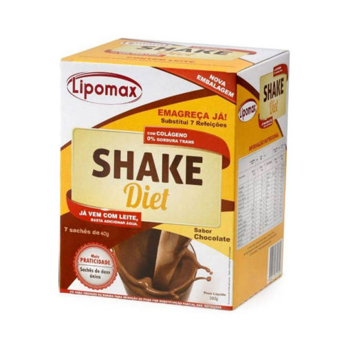 LIPOMAX SHAKE DIET CHOCOLATE SCH 280G