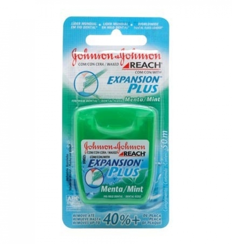 FIO DENT JOHNSON & JOHNSON REACH MENTA EXP PLUS 50M