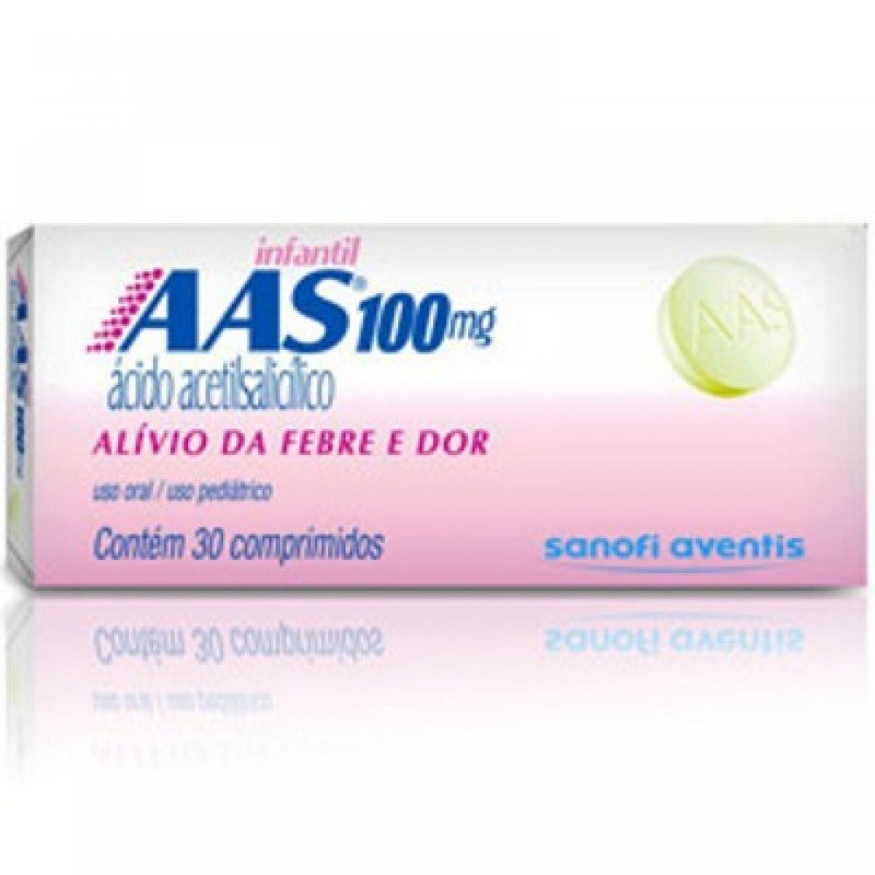 AAS 100MG SANOFI PROTECT C/30 COMP