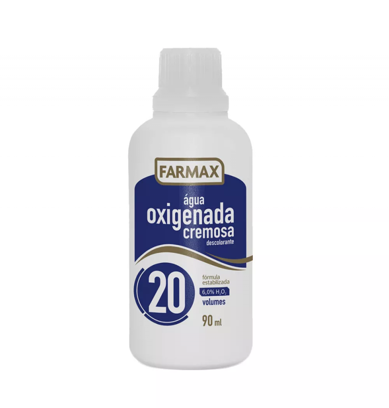 AGUA OXIGENADA FARMAX 20V  90ML