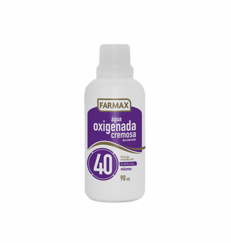 AGUA OXIGENADA FARMAX 40V  90ML