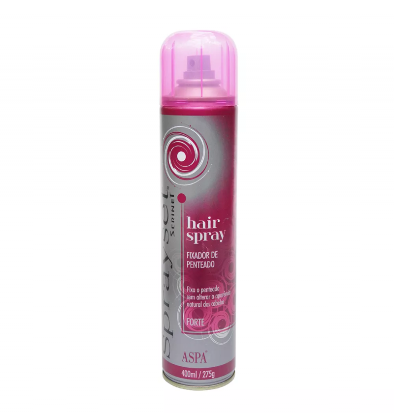 SPRAYSET HAIR SPRAY FORTE FIXADOR DE PENTEADO 400ML