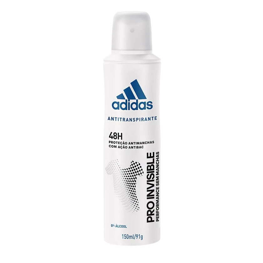 ADIDAS AEROSOL ANTITRANSPIRANTE FEMININO  PRO INVISIBLE 48H 150ML