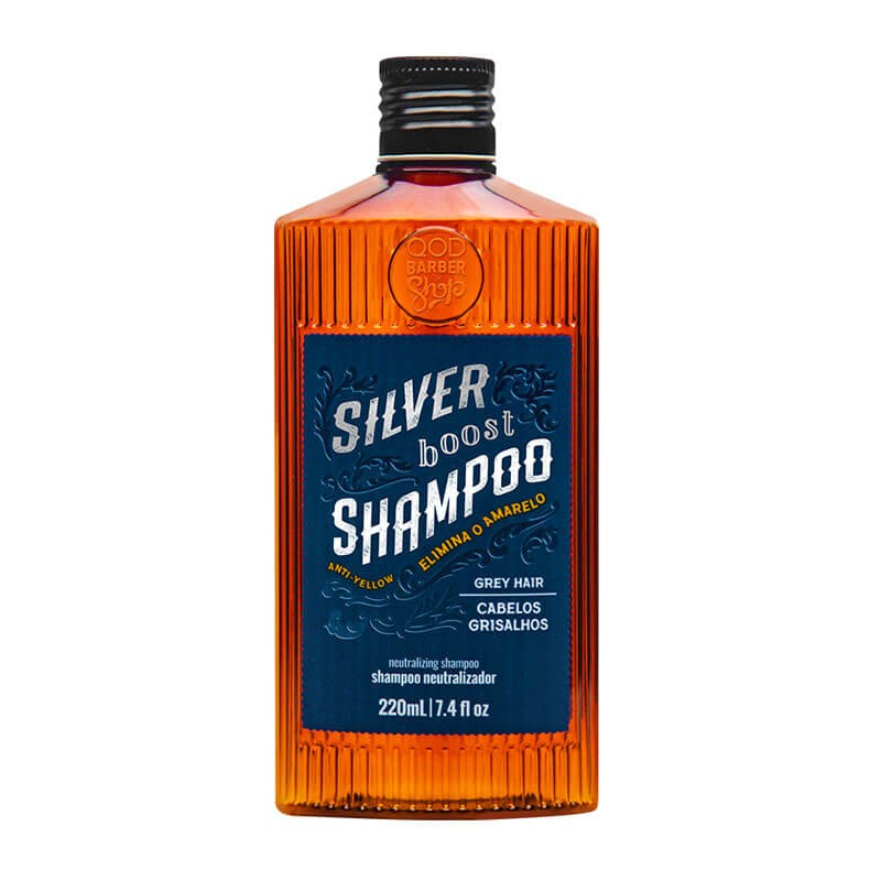 BARBER SHOP SHAMP GRISALHOS 220ML