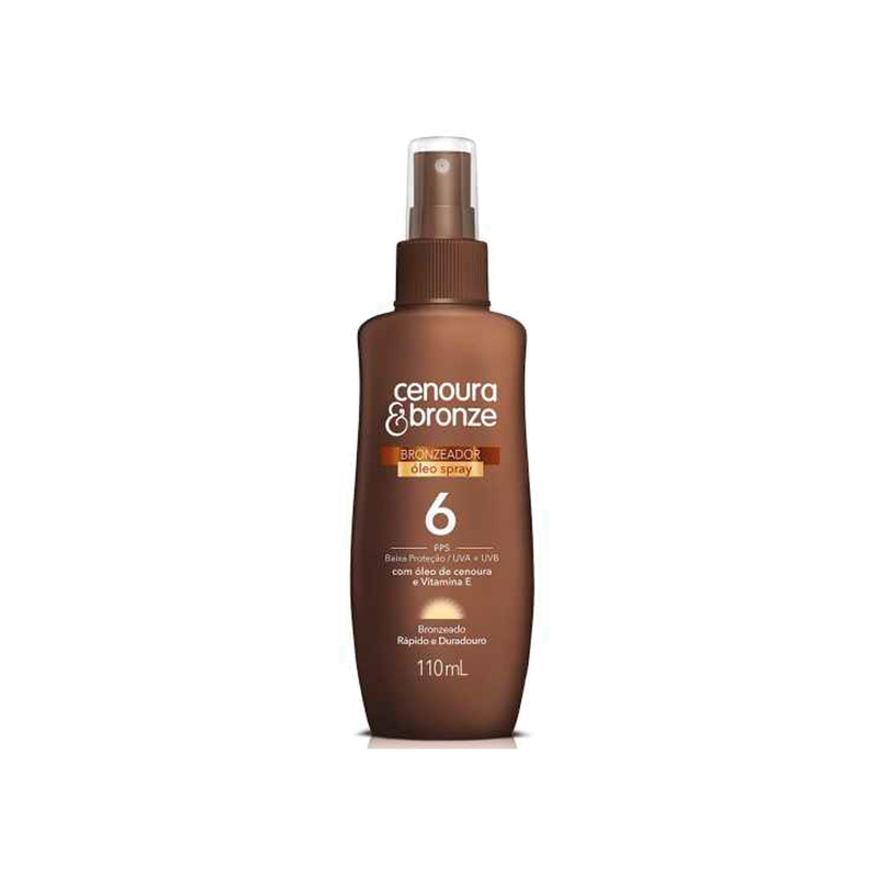 CENOURA BRONZE FPS  SPRAY 6 110ML