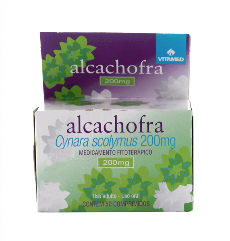 ALCACHOFRA VITAMED 200MG C/50