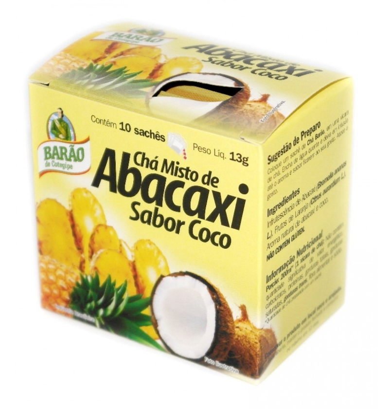 CHA BARAO ABACAXI/COCO 13G
