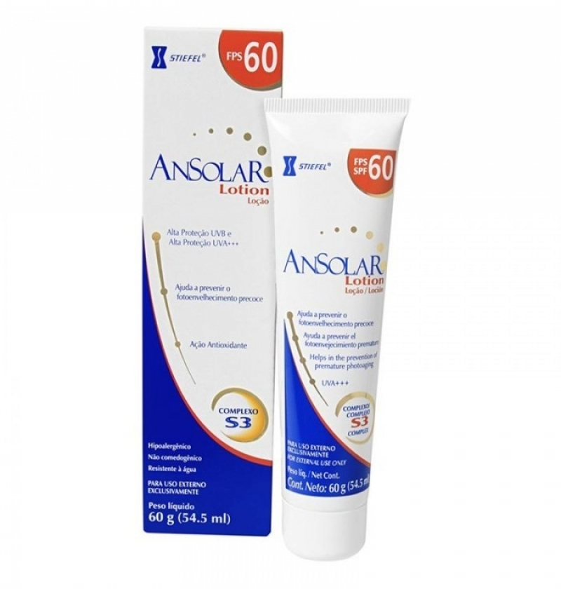 ANSOLAR LOTION FPS 60 60G