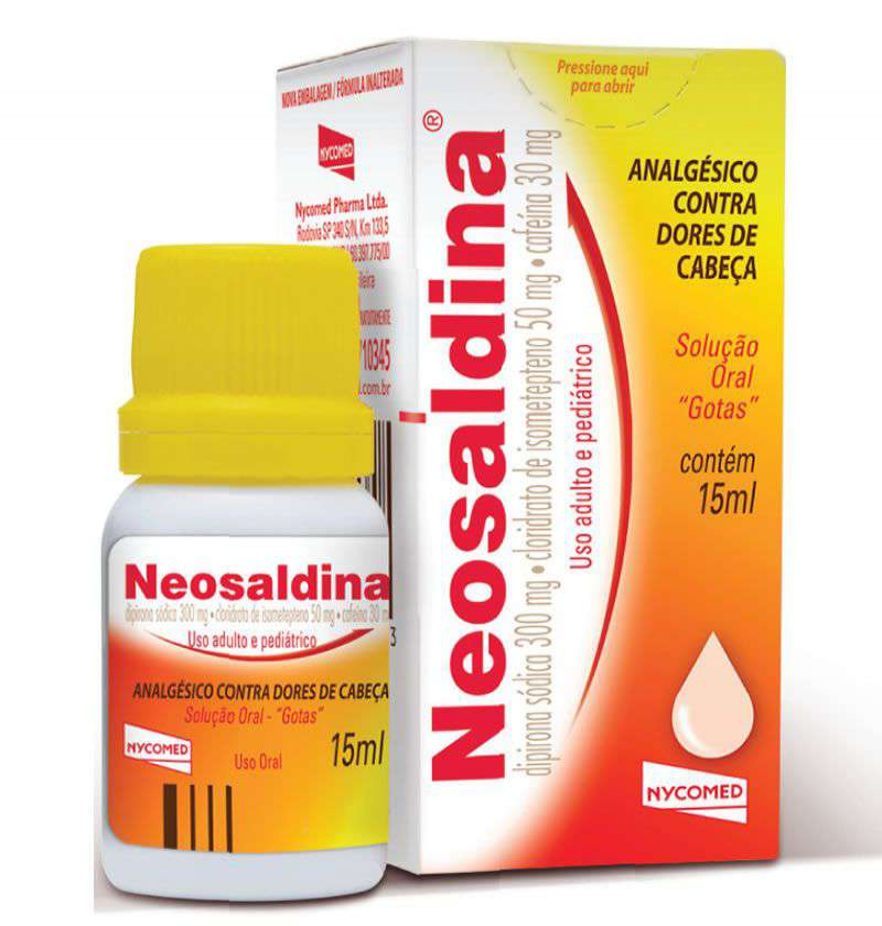 NEOSALDINA 15 ML