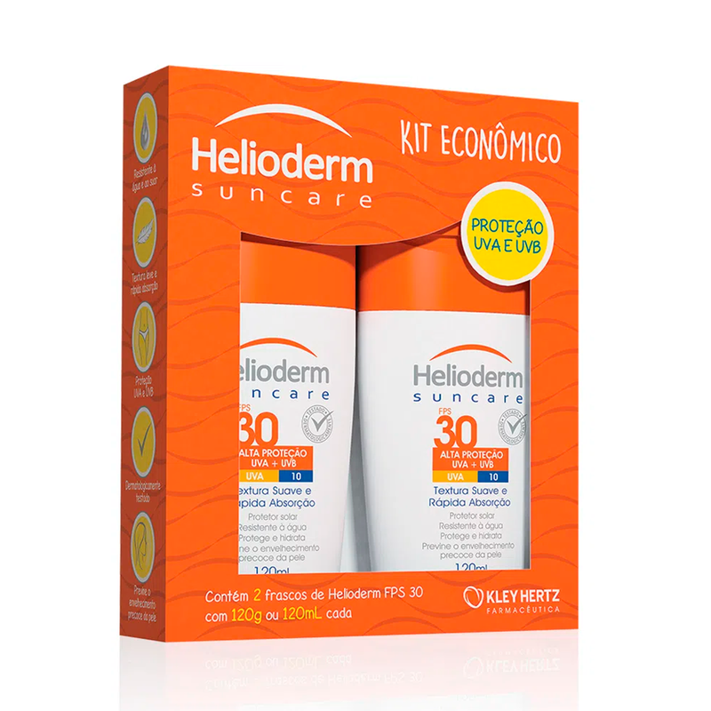 HELIODERM KIT 2 FPS30 120G